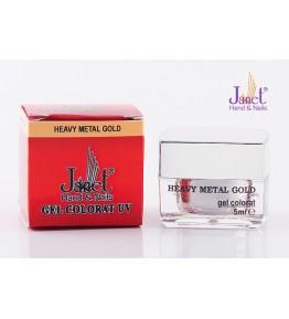 Gel colorat Metalic - Heavy Metal Gold, 5 ml, art. nr.: 20003.50