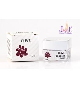 Gel colorat Olive, 5 ml, art. nr.: 20081.12