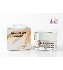 Shimmer Gel - Golden, 5 ml, art. nr.: 20224