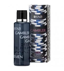 JFENZI - Gambler Men - Apa de parfum pentru barbati 100 ml