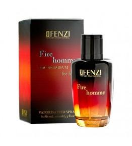 JFENZI - Fire Homme - Apa de parfum pentru barbati 100 ml