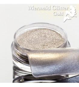 Mermaid Glitter Gold