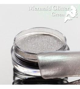 Mermaid Glitter Green