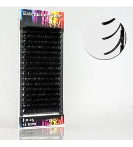 Extensii gene, forma J, 0.15mm x 11mm