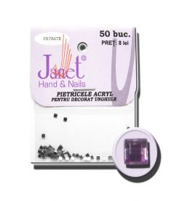 Pietricele patrate plic 01-violet-deschis, art. nr.: 76721