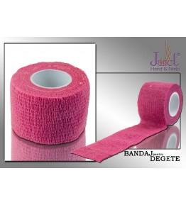 Bandaj pentru degete, roz, art. nr.: 300092