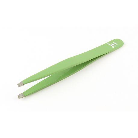 Penseta vârf plat, teșit, verde, art. nr.: 300114