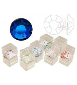 Pietricele cristal, 50 buc., culoare capri blue, ss5, art. nr.: 761536