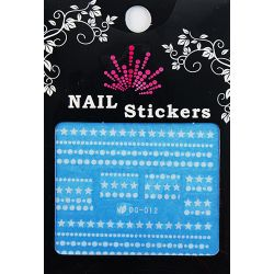 Nail Sticker fosforescent, DG-012, art. nr.: 76727