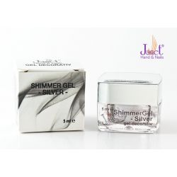 Shimmer Gel - Silver, 5 ml, art. nr.: 20225
