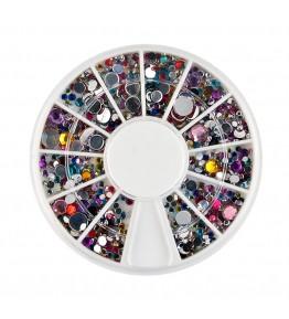 Carusel cu pietricele rotunde mix, diverse culori si marimi, art. nr.: 761575