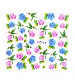 Nail Sticker, art. nr.: C006