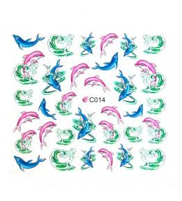 Nail Sticker, art. nr.: C014
