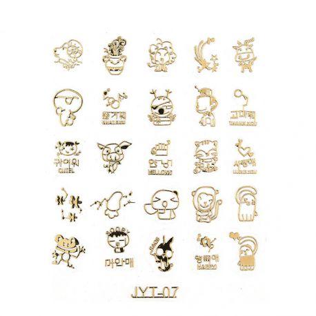Nail Sticker, art. nr.: 09