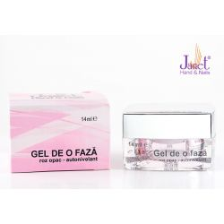 Gel de o faza, roz opac, 14 ml, art. nr.: 20108