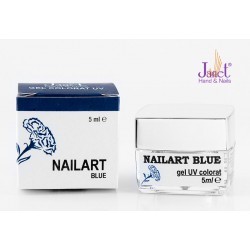 Nailart color gel, Blue, 5 ml, art. nr.: 20067.8