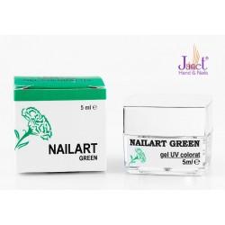 Nailart color gel, Green, 5 ml, art. nr.: 20067.6