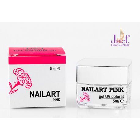 Nailart color gel, Pink, 5 ml, art. nr.: 20067.3