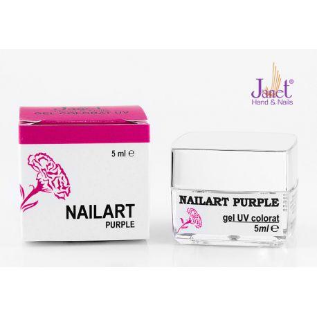 Nailart color gel, Purple, 5 ml, art. nr.: 20067