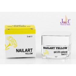 Nailart color gel, Yellow, 5 ml, art. nr.: 20067.1