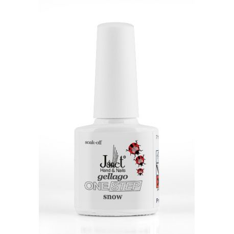 Gellago Snow - Oja UV semipermanenta, Onestep, 7 ml, art. nr.: 20046.48