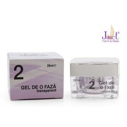 2 Gel de o faza transparent, 28 ml, art. nr.: 20280