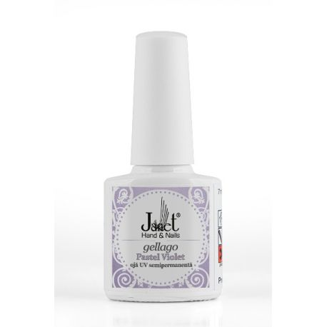 Gellago - Pastel Violet, 7 ml, Oja UV Semipermanenta, art. nr.: 20302