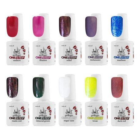 Set 10 culori Gellago ONE STEP 5, art. nr.: 20075