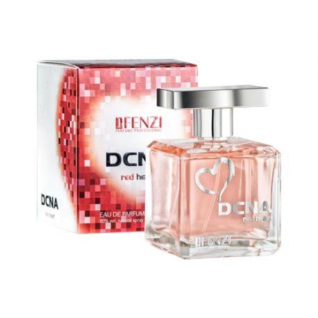 JFENZI - DCNA Red Heart - Apa de parfum pentru femei 100 ml