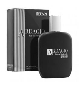 JFENZI - Ardagio Eau de Black Night - Apa de parfum pentru barbati 100 ml