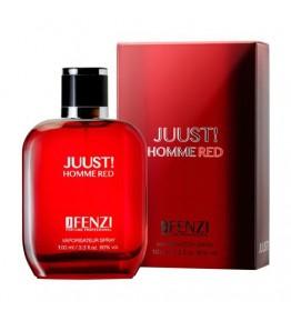 JFENZI - Juust! Red Homme - Apa de parfum pentru barbati 100 ml