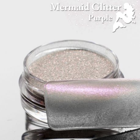 Mermaid Glitter Purpuriu