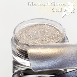 Mermaid Glitter Gold