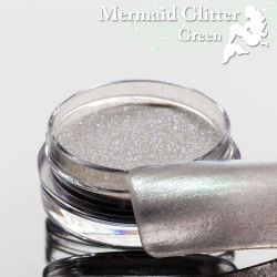 Mermaid Glitter Green
