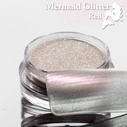 Mermaid Glitter Red