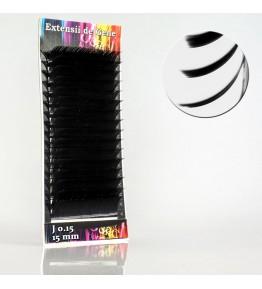 Extensii gene, forma J, 0.15mm x 15mm
