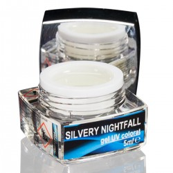 Gel colorat fosforescent, Silvery Nightfall, art. nr.: 20082