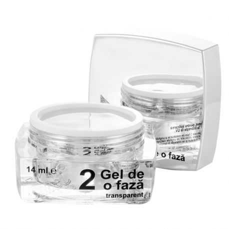 2 Gel de o faza transparent, 14 ml, art. nr.: 20279