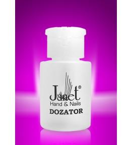 Dozator cilindric, plastic, 150 ml, art. nr.: 300001