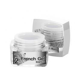 2 French Gel Bianco, 5 ml, art. nr.: 20284