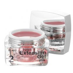 2 Extension Gel Pink, 28 ml, art. nr.: 20287