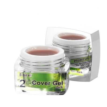 2 Cover Gel Dark, 5 ml, art. nr.: 20290