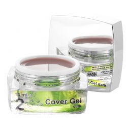 2 Cover Gel Dark, 14 ml, art. nr.: 20291