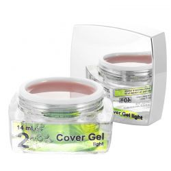 2 Cover Gel Light, 14 ml, art. nr.: 20293