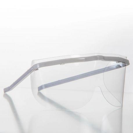 Ochelari de protectie cu vizor detasabil