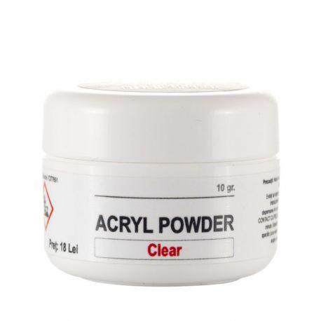Acryl Powder Clear, 10 gr., art. nr.: 20272