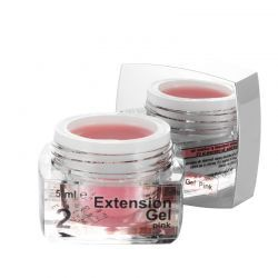 2 Extension Gel Pink, 5 ml, art. nr.: 20285