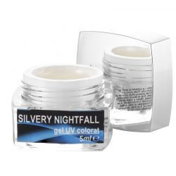 Gel colorat fosforescent, Silvery Nightfall, art. nr.: 20082