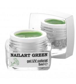 Nailart color gel Green