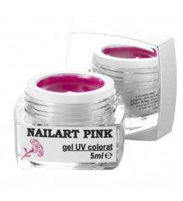 Nailart color gel Pink